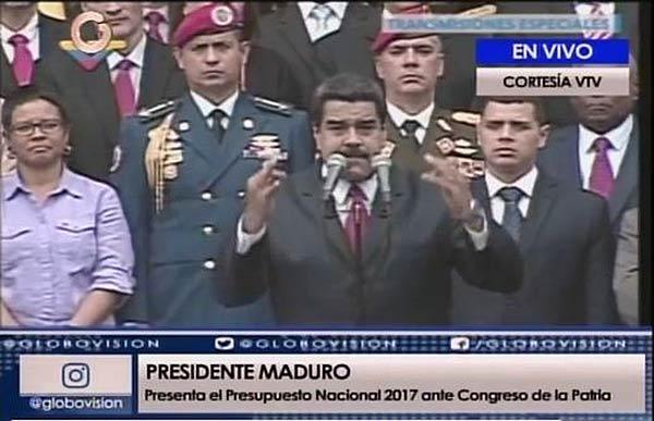 Nicolás Maduro en el Congreso de la Patria | Foto: Captura de video