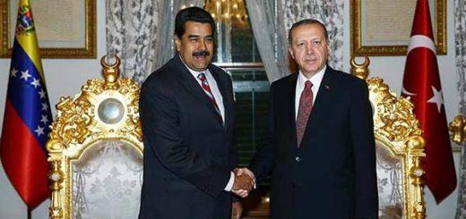 Nicolás Maduro y Recep Tayyip Erdogan | Foto:
