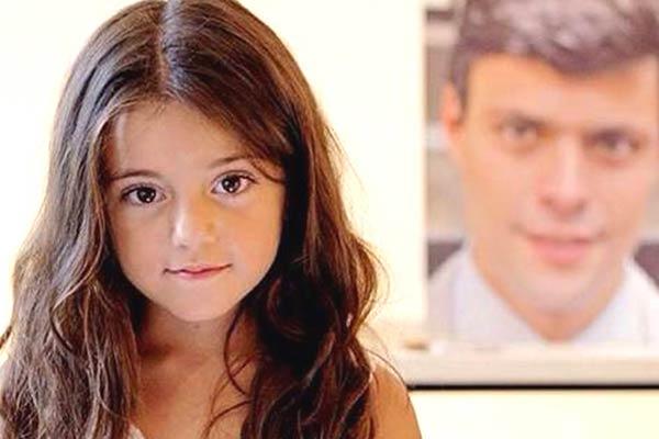Manuela, hija de Leopoldo López | Foto: Archivo