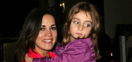 Mónica Spear con su hija, Maya Berry Spear | Foto: Archivo