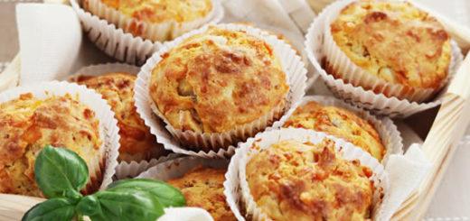 Muffins de jamón y queso | Foto referencial