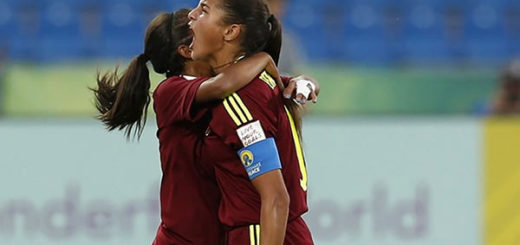 La venezolana Deyna Castellanos se convirtió en la máxima goleadora de mundiales Sub-17 | Foto: Cortesía