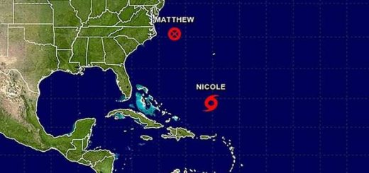Tormenta Nicole podría convertirse en Huracán hoy | Imagen: CNH
