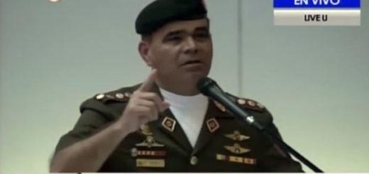 Vladimir Padrino López | Foto: Captura de video