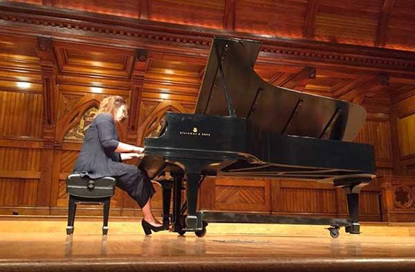 Pianista Gabriela Montero   Foto: Nota de prensa