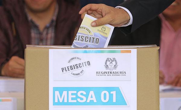 Plebiscito en Colombia sobre el Acuerdo de Paz | Foto: Archivo