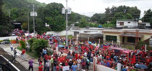 Alcaldía Mario Briceño Iragorry en Aragua   Foto vía Twitter
