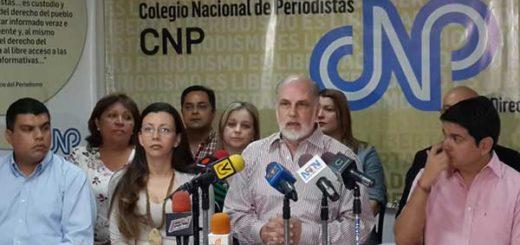 Tinedo Guía, presidente del Colegio Nacional de Periodistas | Foto: Cortesía