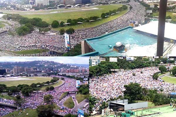 Toma de Venezuela | Foto: Twitter