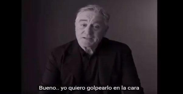 Robert de Niro|Captura de video