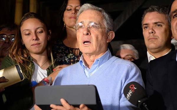Álvaro Uribe | Foto: AFP