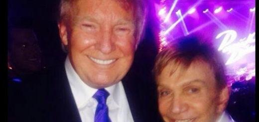 Donald Trump y Osmel Sousa Foto: Cortesía
