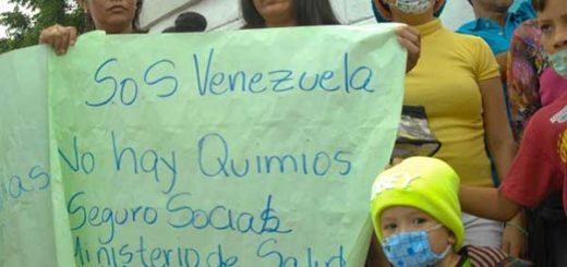 Madres de niños con cáncer exigen a las autoridades tomar medidas constantes y a largo plazo | Foto: Alejandro Paredes / La Verdad