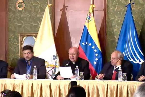 Diálogo entre la MUD y el Gobierno tendrá un 4to encuentro |Foto cortesía