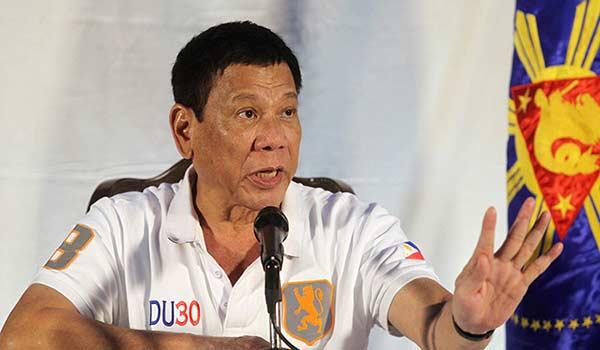 Presidente Filipino, Rodrigo Duterte | Foto: Cortesía