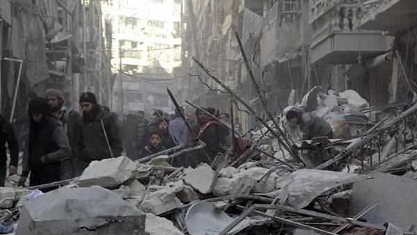 Alepo, Siria | Foto: Agencias