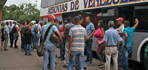 Pasajeros de un autobús que se dirigía a Colombia fue asaltado |Foto: El Carabobeño