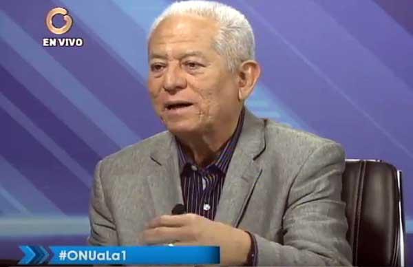 Embajador de Venezuela ante el Consejo de Derechos Humanos de la ONU, Jorge Valero   Foto: Captura de video