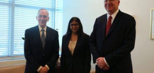 Delcy Rodríguez asiste a la ONU para ratificar esequibo |Foto: @RodriguezVen