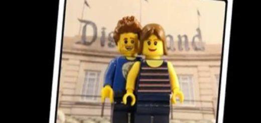 Propuesta de matrimonio al estilo lego |Captura de video