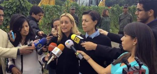 Lilian Tintori informo a los medios de comunicación que pudo visitar a Leopoldo López |Captura de video