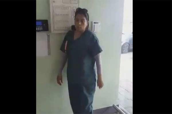 Venezolana fue capturada tras robar varias latas de atún en el Hiper Líder de Valencia |Captura de video