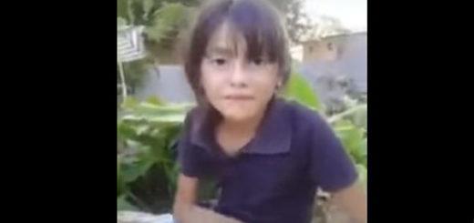 Niña envía mensaje a Nicolás Maduro |Captura de video