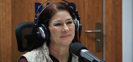 Cilia Flores durante su programa radial, Decisiones |Foto: @DPresidencia