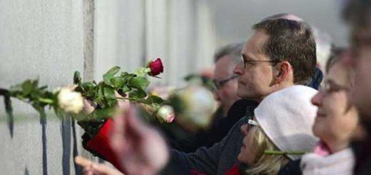 Conmemoran 27 años de la caída del muro de Berlín | Foto:
