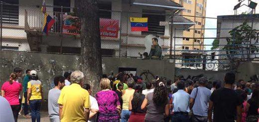 Desalojaron a chavistas que intentaron invadir colegio en El Paraíso, municipio Libertador, Caracas | Foto: Archivo