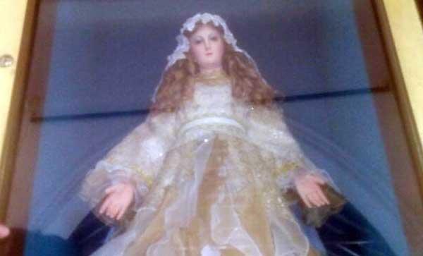 Roban corona de la Virgen de Altagracia en Zulia | Foto: Twitter