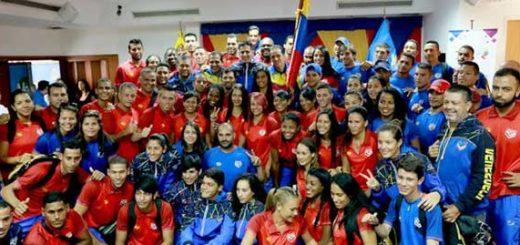 Venezuela está lista para revalidar título en Juegos Bolivarianos de Playa | Foto: @IND_Vzla