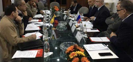 Directivas de Pdvsa y Rosneft sostuvieron reunión en Caracas   Foto: @delpinoeulogio