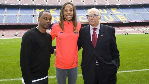 Yulimar Rojas | Foto: FC Barcelona