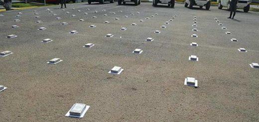 100 panelas de cocaína fueron incautadas en Guárico|Foto: El Pitazo