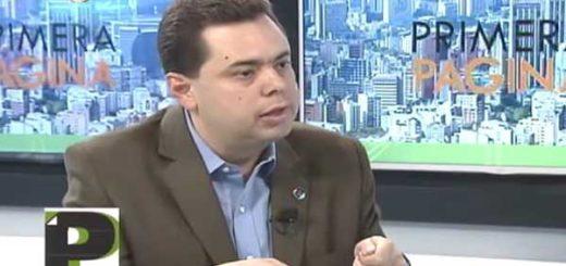 Presidente de la Fundación Arturo Uslar Pietri, Antonio Ecarri   Foto: Captura de video