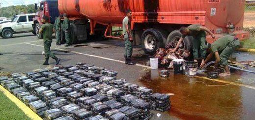 GNB incauta 1.000 Kg de cocaína | Foto: @AbreuReport