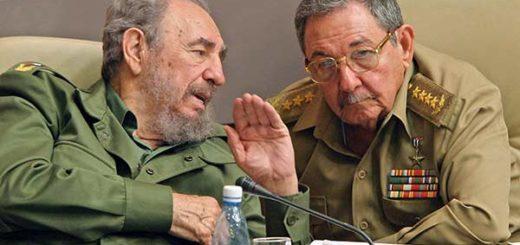 Hermanos Castro, Fidel y Raúl Castro | Foto :EFE
