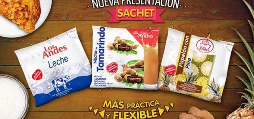 Nueva presentación de jugos Los Andes | Foto: @EslandesOficial
