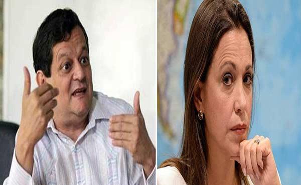 Kiko Bautista critica y arremete contra María Corina Machado |Composición Notitotal