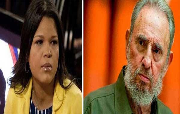 María Gabriela Chávez reacciona a la muerte de Fidel Castro |Foto: Notitotal