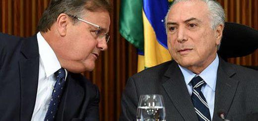 Michel Temer y Geddel Vieira | Foto: AFP
