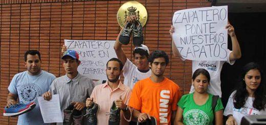 Movimiento estudiantil envía firme mensaje a Rodríguez Zapatero |Foto: @HaslerIglesias