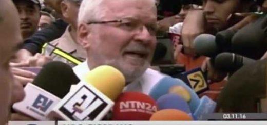 Nuncio apostólico Aldo Giordano | Foto: Captura de video