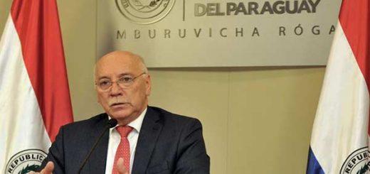 Canciller de Paraguay, Eladio Loizaga | Foto EFE
