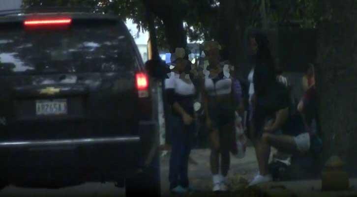 Prostitutas en Caracas | Foto: Captura de pantalla