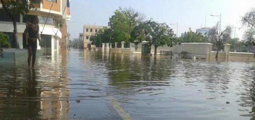 Sectores de Puerto Cabello se mantienen anegadas |Foto: La Patilla