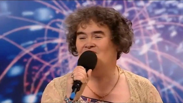 Susan Boyle |Captura de video