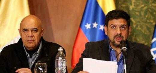 Jesús 'Chúo' Torrealba y Carlos Oscariz | Foto: Reuters