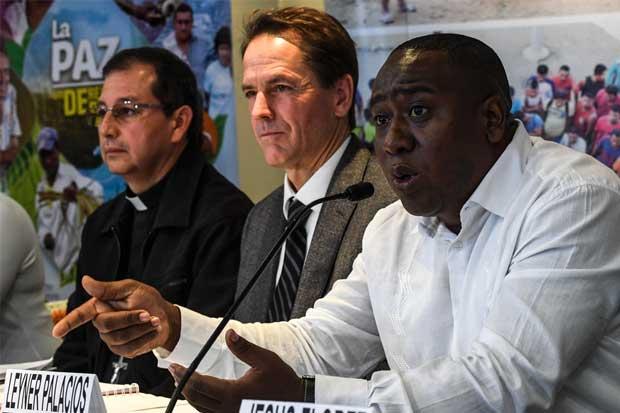 El acuerdo no puede esperar más, según Leyner Palacios, representante de las víctimas de la masacre de Bojayá. Luis Acosta/AFP
